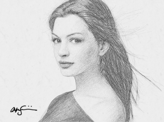 Anne Hathaway par jonji